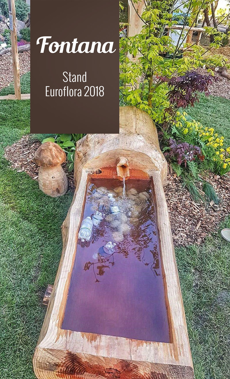 Fontana all'Euroflora 2018