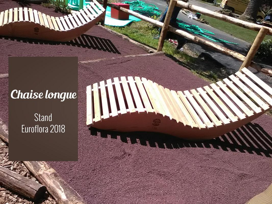 Chaise longue all'Euroflora 2018