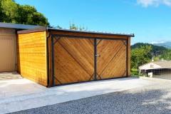 Garage_larice_legno_ligure